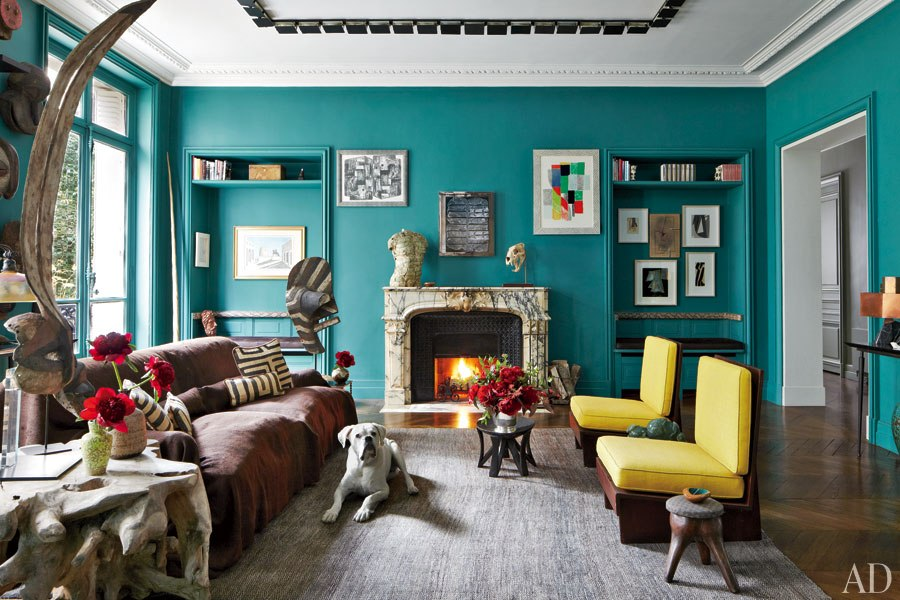 Turquoise living room ideas for Paris living room ideas