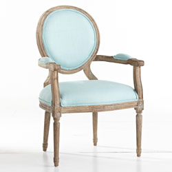 w8090-Mid aqua chair