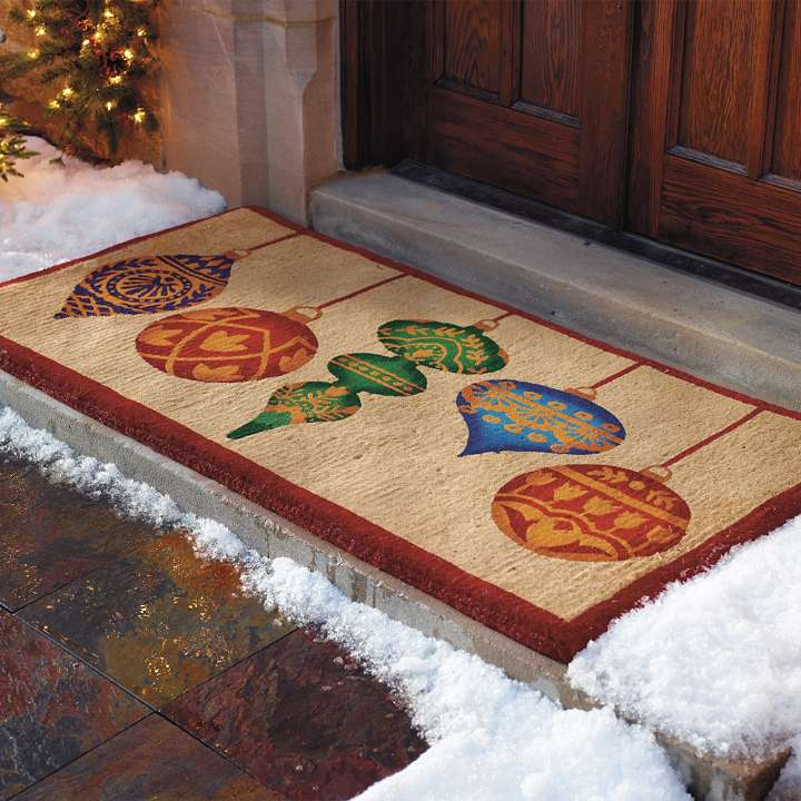 Foyer Rugs For Christmas: Today's Idea, Oops Christmas Decorations