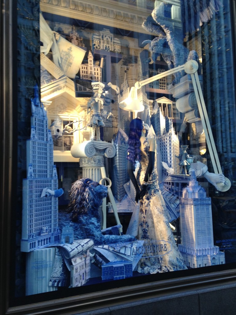 My favorite christmas window decorations in new york for When does new york start decorating for christmas