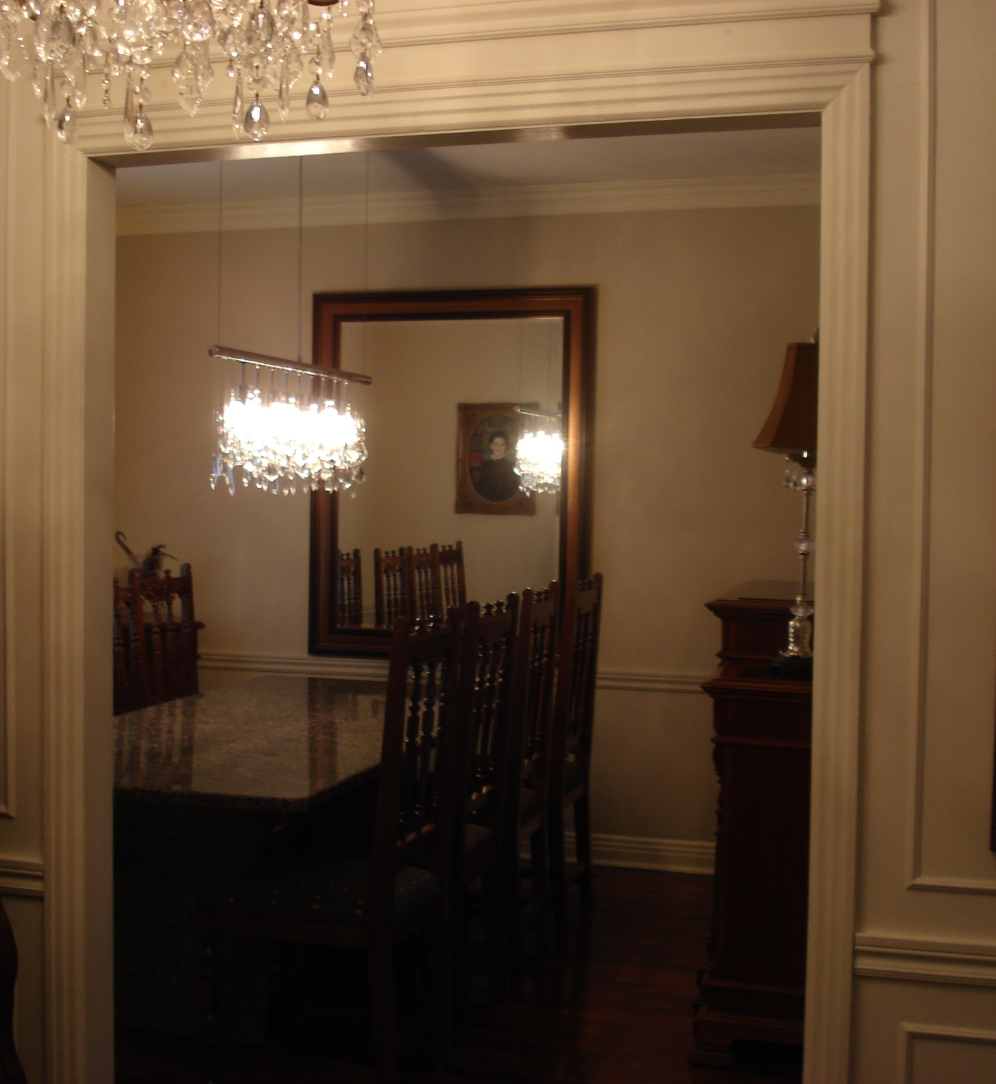 A few changes and a great effect decogirl montreal for Miroir miroir montreal